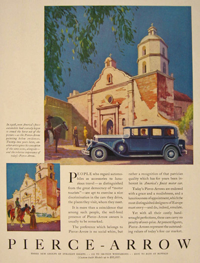 1930 Pierce Arrow Ad