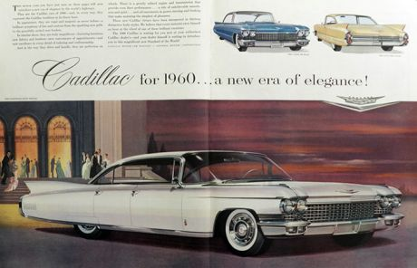 1960 Cadillac Fleetwood Sixty Ad ~ 2 Pages