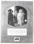 1923 Fisher Bodies Ad ~ Halloween Party