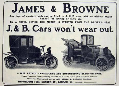 1904 James & Browne Auto Ad