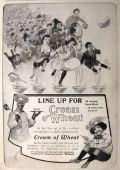 1903 Cream of Wheat Ad ~ Line Up for Cream of Wheat