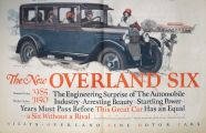 1925 Willys Overland Six Ad ~ Engineering Surprise