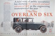1925 Willys Overland Six Ad