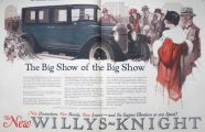 1924 Willys Knight Ad ~ The Big Show of the Big Show