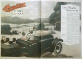 1917 Willys Overland Ad ~ The Road to Happiness