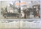 1917 Willys Overland Ad ~ This is the Life