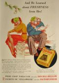1936 Old Gold Cigarettes Ad ~ George Petty Art
