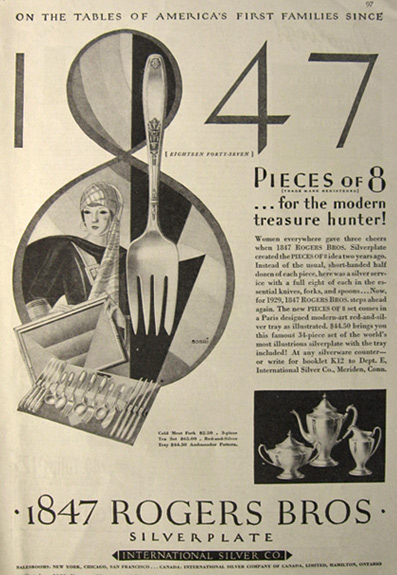 Silverplate Patterns - Sterling Flatware Fashions & Facts