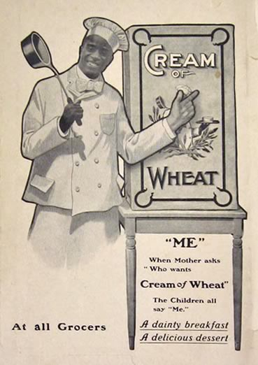 1904 Cream of Wheat Ad ~ When Mother Asks