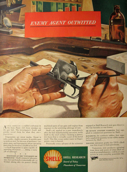 1944 shell oil ad