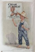 1919 Cream of Wheat Ad ~ James Leslie ~ Them's My Sentiments