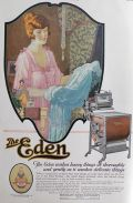 1920 Eden Washing Machine Ad ~ Washes Heavy Things