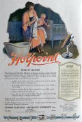 1920 Hotpoint Hedlite Heater Ad ~ Electric Ranges on the Atlantic Fleet