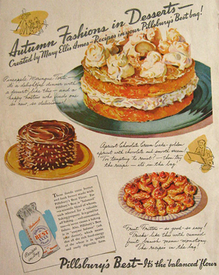 1936 Pillsbury's Best Flour Ad