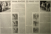 Eddie Collins White Sox Manager ~ 1934 Baseball Article & Photos