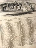 1852 The Springfield Armory ~ Old Magazine Article ~ Illustrated
