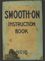 1910 S Smooth On Construction Cement Instruction Booklet