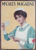 1915 McCall's Magazine Cover ~ Red Cross Nurse