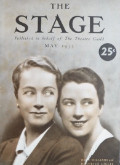 1932 The Stage Magazine Cover ~ Hope Wiliams, Beatrice Lillie