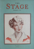 1933 The Stage Magazine Cover ~ Ina Claire