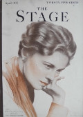 1933 The Stage Magazine Cover ~ Eva Le Gallienne