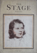 1932 The Stage Magazine Cover ~ Ruth Gordon