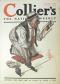 1917 Collier's Magazine Cover ~ Leyendecker ~ Man Plants Seeds