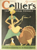 1932 Collier's Magazine Cover ~ Should I Cook this Turkey?
