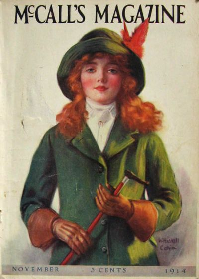 1914 McCall's Magazine Cover ~ W. Haskell Coffin