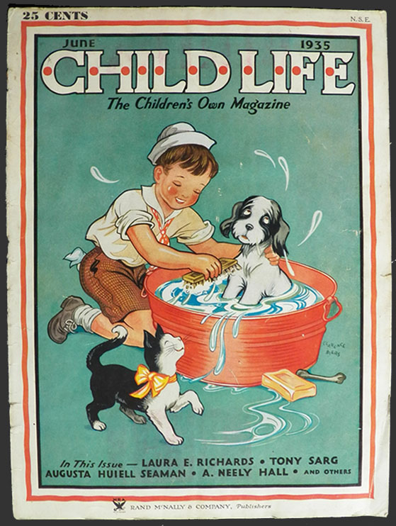 Child Life Magazine October 1960 Halloween Issue Vintage Ultra Rare