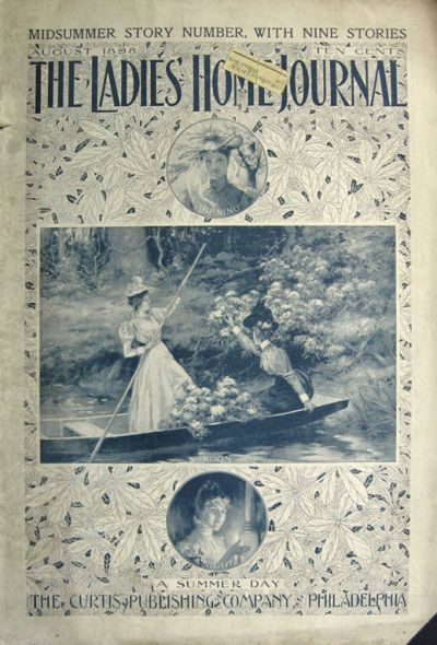 Victorian Magazine Cover Art Suburban Life by OldPaperAndPages  Victorian Magazine Covers