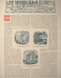 1896 The Distribution of Textiles ~ Illustrated Article
