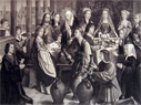 The Marriage at Cana ~ Gerard David Antique Print