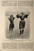 1897 American Bathing Girl at the Beach Article, Photos