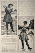 1895 The Bathing Suit Question ~ Illustrated Article