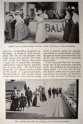 1897 Coney Island in Gala Dress ~ Antique Article, Photos