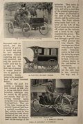 1897 The Horseless Carriage in New York Article, Photos