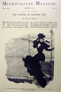 1896 The Poster in Modern Art Illustrated Article