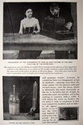 1896 Experiments with the New Rontgen X-ray ~ Article, Photos