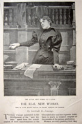 1896 Women's Rights, Women as Professionals ~ Illustrated Article