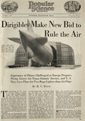 1918 Dirigibles Make Bid to Rule the Air ~ Article & Photos
