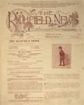 1895 The Richfield News Antique Newspaper ~ Richfield Springs NY