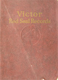1923 Victor Red Seal Records Catalog