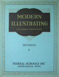 1939 Modern Illustrating & Cartooning Div. 3 ~ The Human Figure