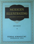 1940 Modern Illustrating & Cartooning Div. 4 ~ Perspective
