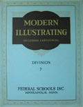 1939 Modern Illustrating & Cartooning Div. 7 ~ Drawing in Tone