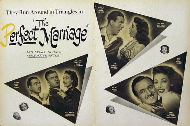 The Perfect Marriage David Niven 1947 Movie Ad
