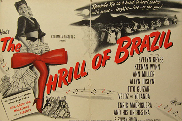 The Thrill of Brazil 1946 Vintage Movie Ad