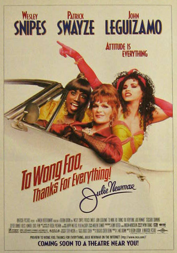 To Wong Foo Thanks for Everything 1995 Vintage Movie Ad