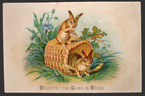Lot of 2 Vintage Easter Cards Chicks Bunnies Vintage Greeting – Vintage Easter Cards